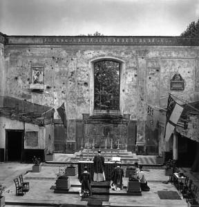 Photo by Robert Capa: St John the Evangelist, 1941