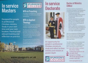 Spurgeon's College http://www.spurgeons.ac.uk/courses
