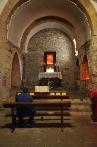 Prayer at O Cebreiro